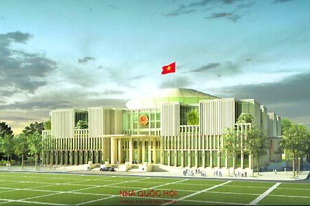 Cong Trinh Toa Nha Quoc Hoi Viet Nam Dự án Tòa Nhà Quốc Hội Nằm