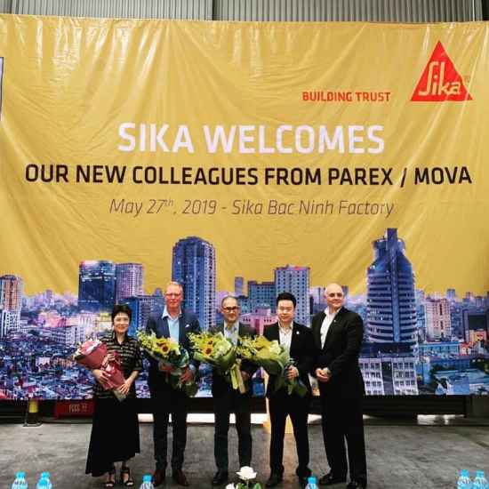 BUILING TRUST SIKA – PAREX/MOVA